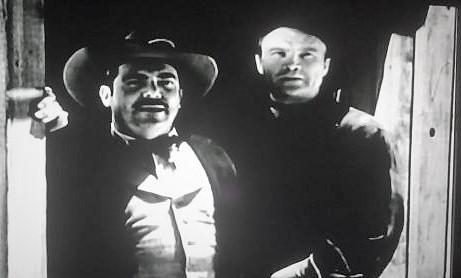 John Cason and Jack O'Shea in Overland Riders (1946)