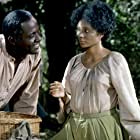 Richard Roundtree and Leslie Uggams in Roots (1977)
