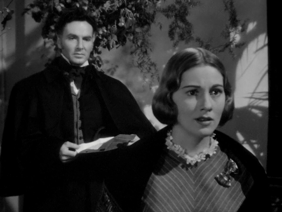 Joan Fontaine and John Sutton in Jane Eyre (1943)