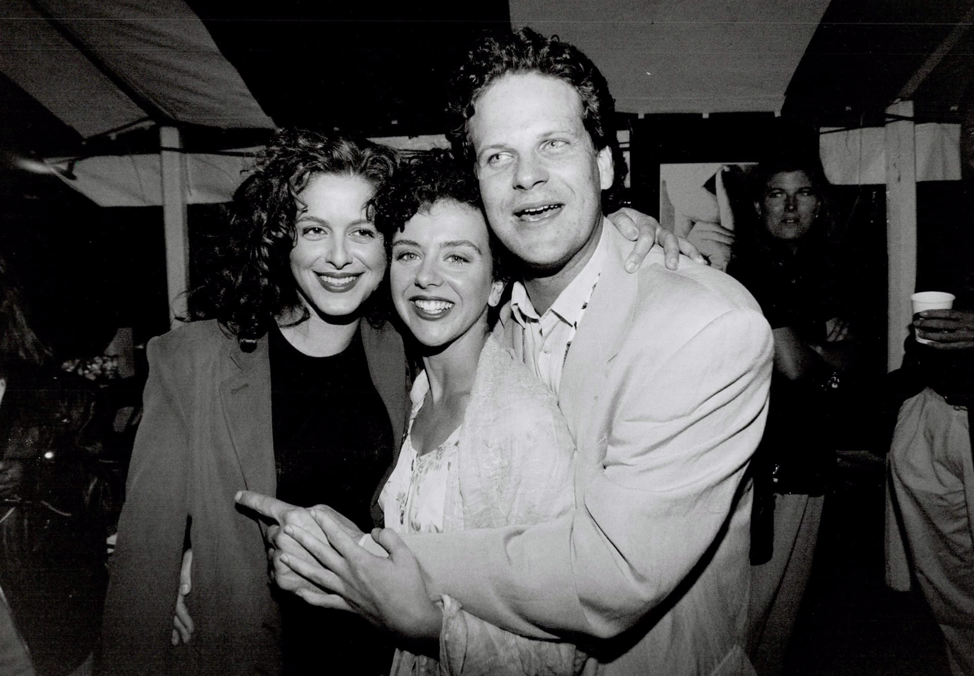 Nadia Capone, Anna Pappas, and Albert Schultz in Side Effects (1994)