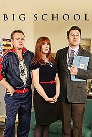 Philip Glenister, Catherine Tate, and David Walliams in Big School (2013)