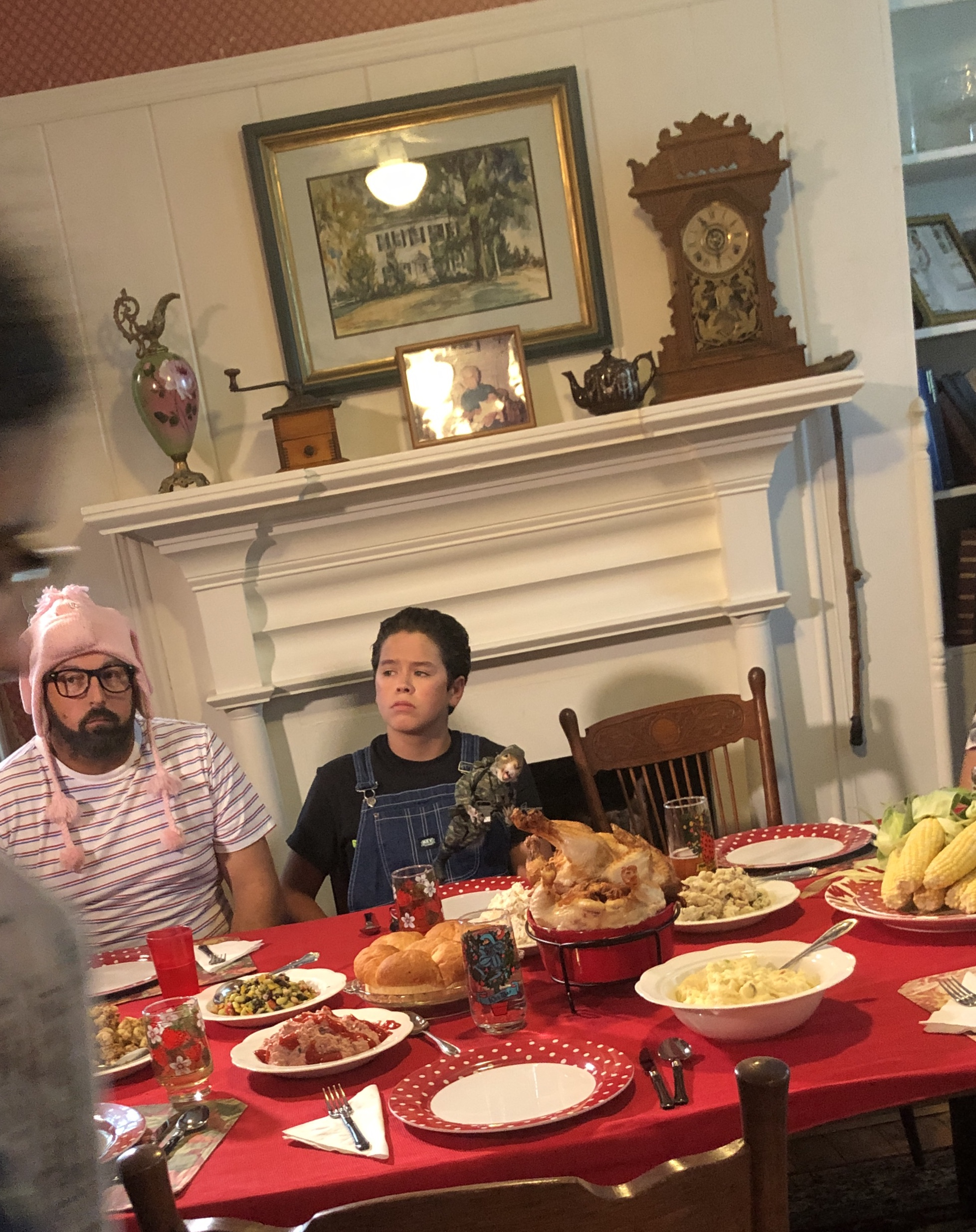 Zaide Avila and David Towner in Our Scripted Life (2020)