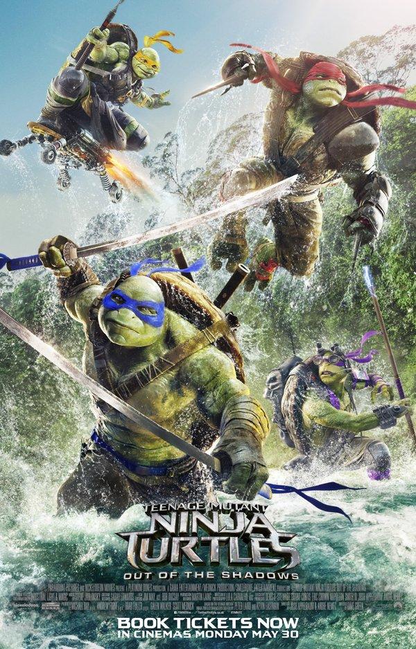فيلم Teenage Mutant Ninja Turtles: Out of the Shadows مترجم