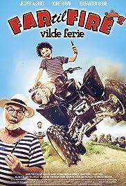 Far til fire's vilde ferie Poster
