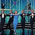 June Allyson, Jack Dodds, Casse Jaeger, Frank Radcliffe, and Marc Wilder in The Opposite Sex (1956)