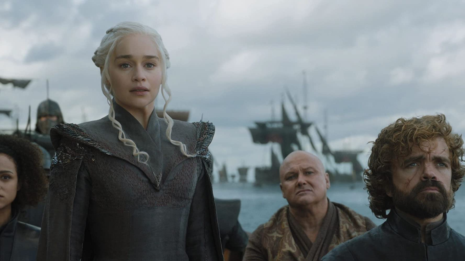 Peter Dinklage, Conleth Hill, and Emilia Clarke in Game of Thrones (2011)