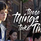 Zackary Arthur, Makana Say, Meilee Condron, and Samantha Krull in These Things Take Time (2018)
