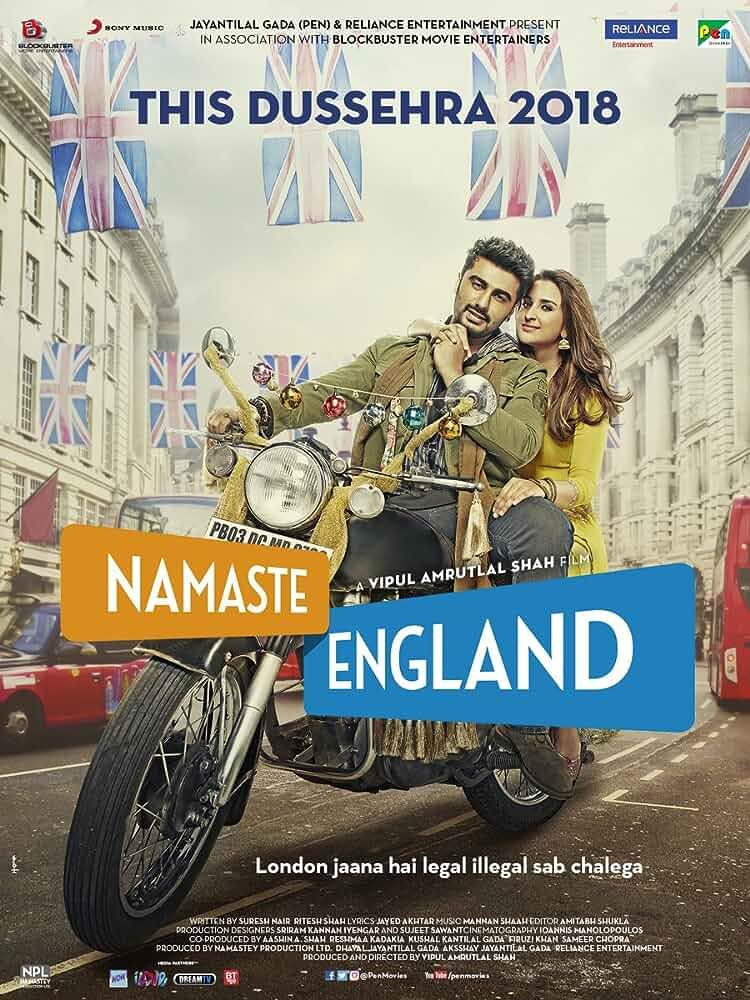 Namaste England 2018 Hindi  PRE AAC Movie