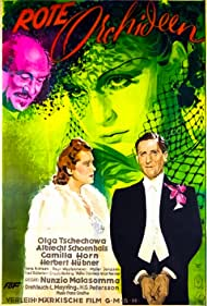 Camilla Horn, Herbert Hübner, Albrecht Schoenhals, and Olga Tschechowa in Rote Orchideen (1938)