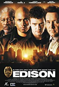 Morgan Freeman, Kevin Spacey, LL Cool J, and Justin Timberlake in Edison (2005)