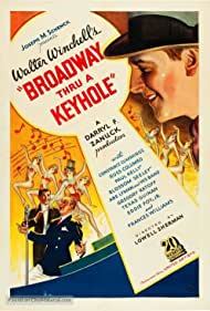 Russ Columbo, Abe Lyman, and Walter Winchell in Broadway Thru a Keyhole (1933)
