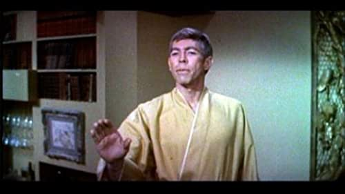 James Coburn stars as the action hero in this trailer