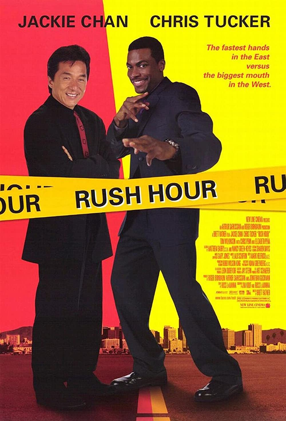 Rush Hour 1988 Dual Audio Hindi 720p BluRay ESub 700MB Download