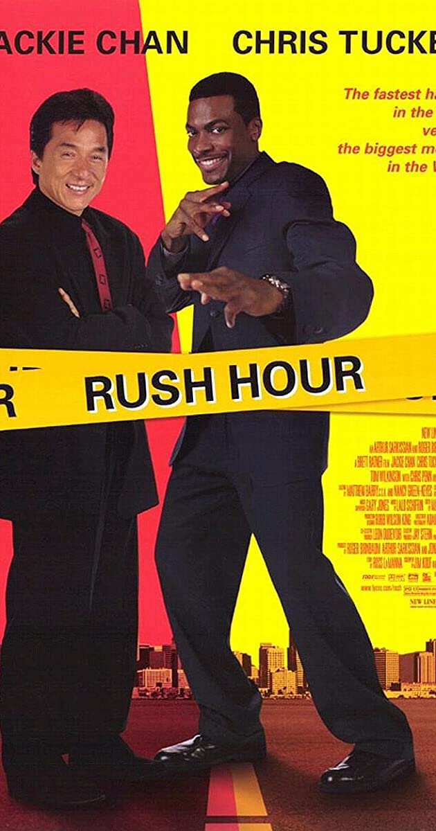 Rush Hour 1988 Hindi Dubbed 720p BluRay ESubs 700MB Download