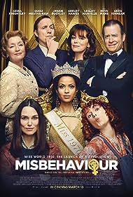 Greg Kinnear, Keeley Hawes, Rhys Ifans, Keira Knightley, Lesley Manville, Gugu Mbatha-Raw, and Jessie Buckley in Misbehaviour (2020)