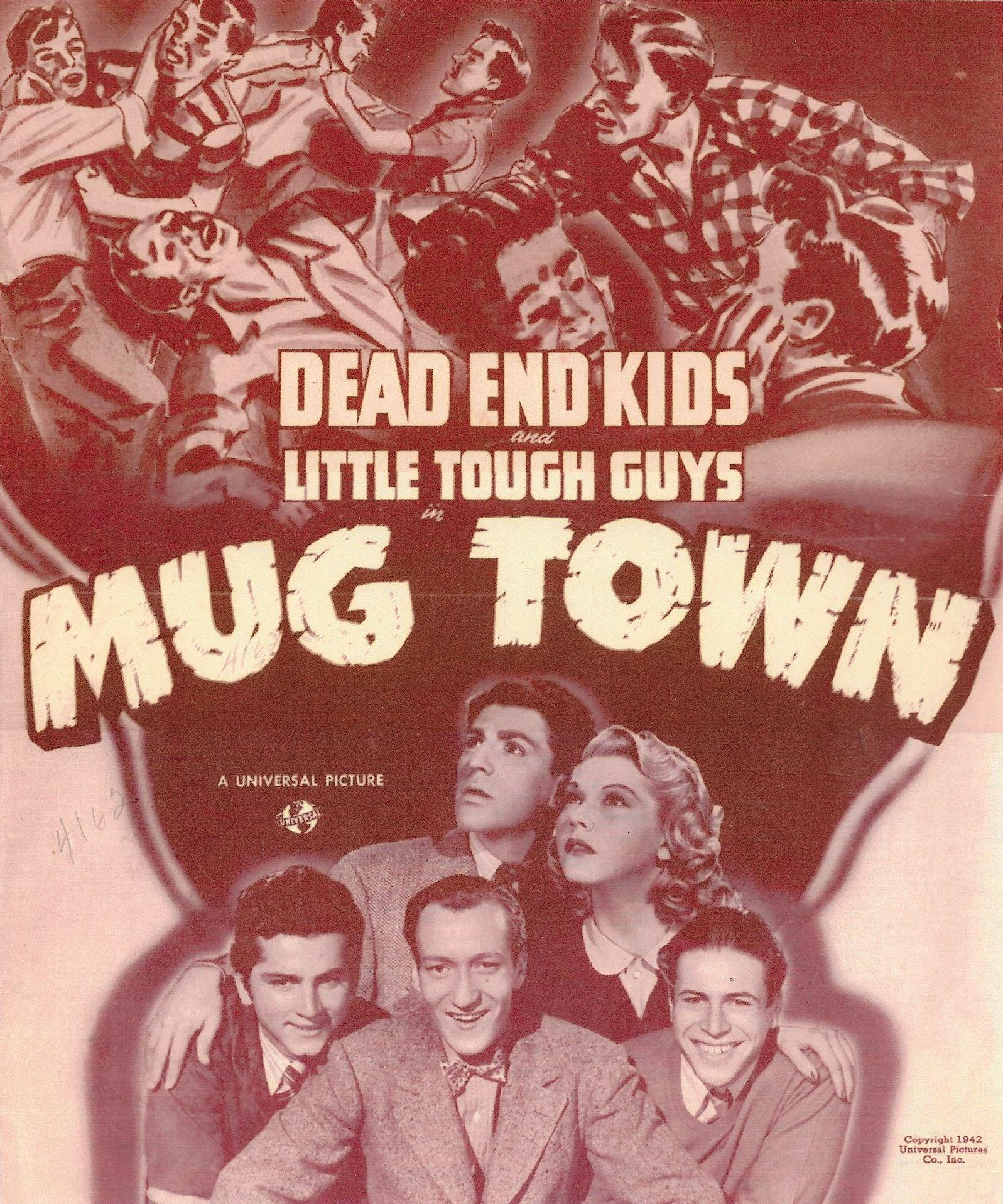 Gabriel Dell, Huntz Hall, Billy Halop, Grace McDonald, and Bernard Punsly in Mug Town (1942)