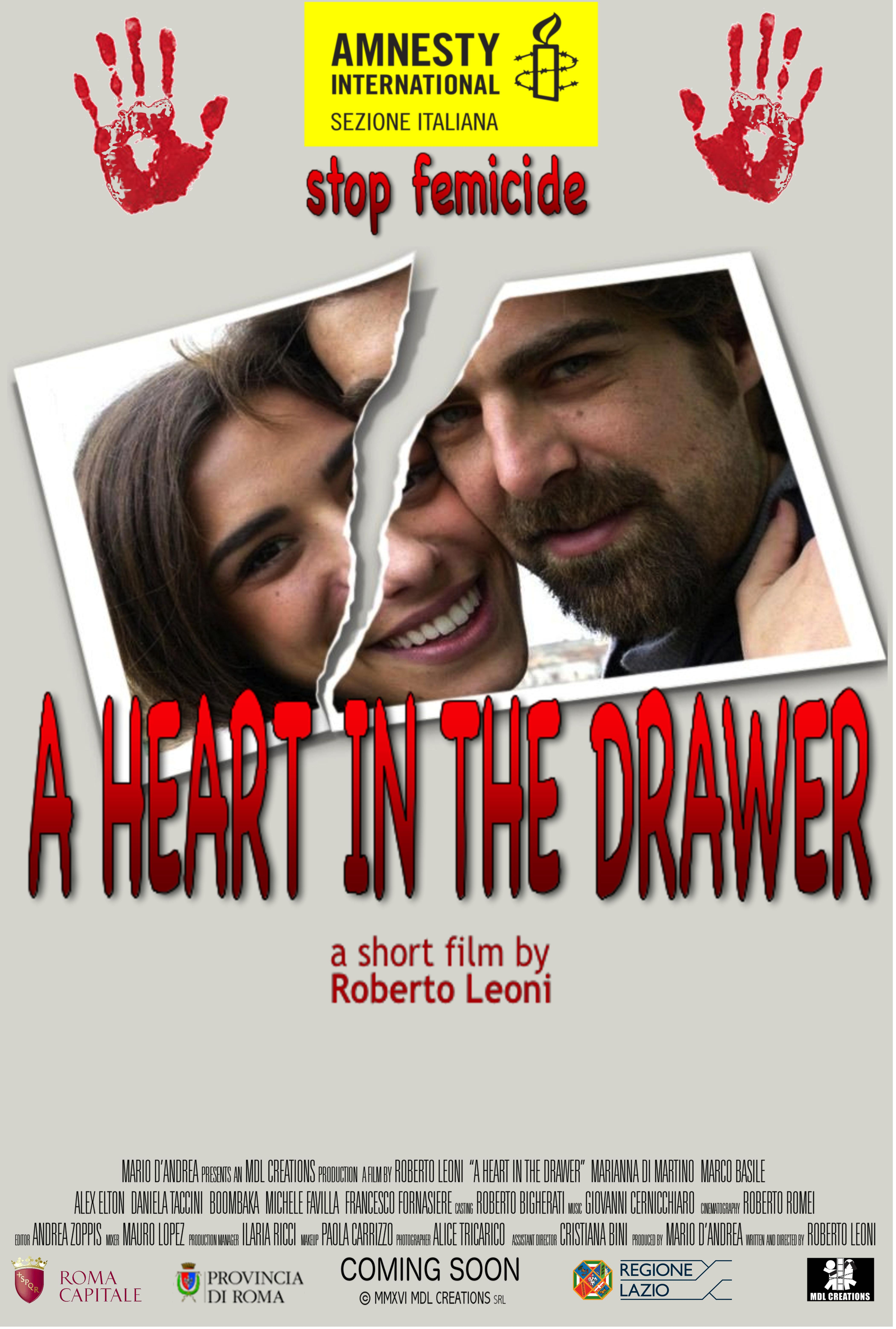 Marco Basile and Marianna Di Martino in A Heart in the Drawer (2016)