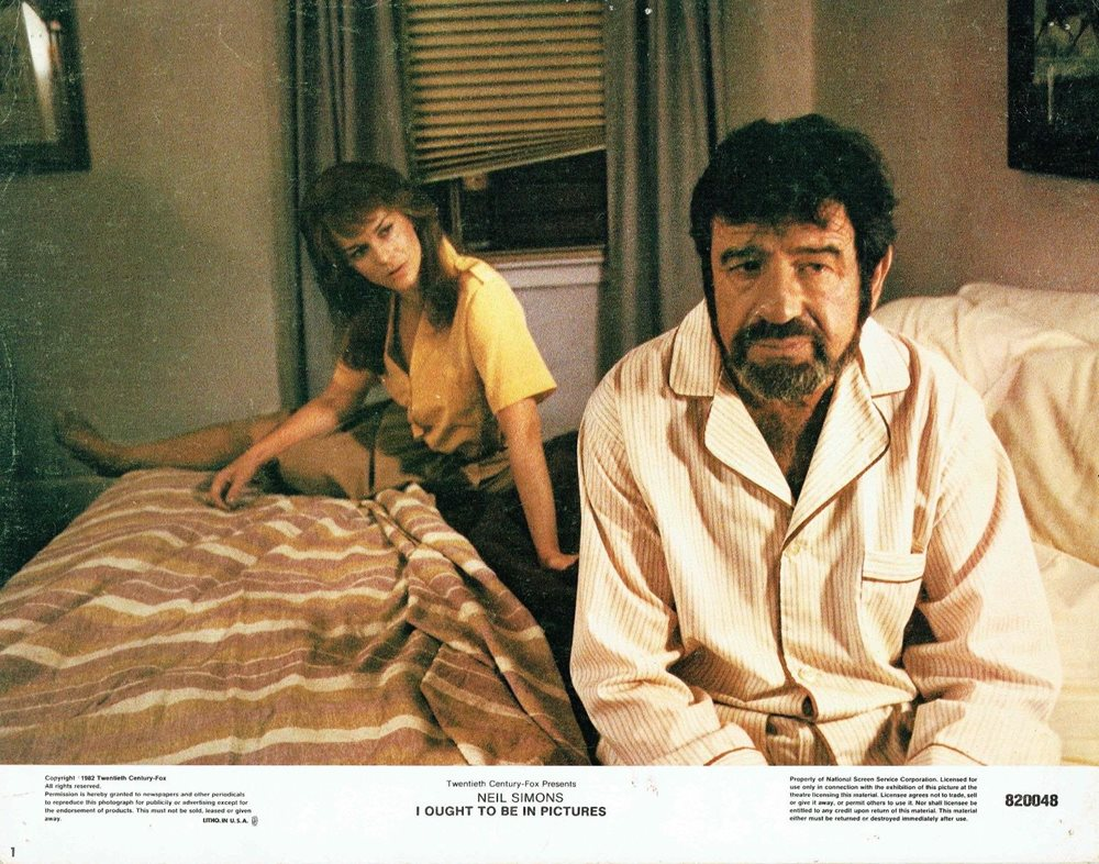 Ann-Margret and Walter Matthau in I Ought to Be in Pictures (1982)