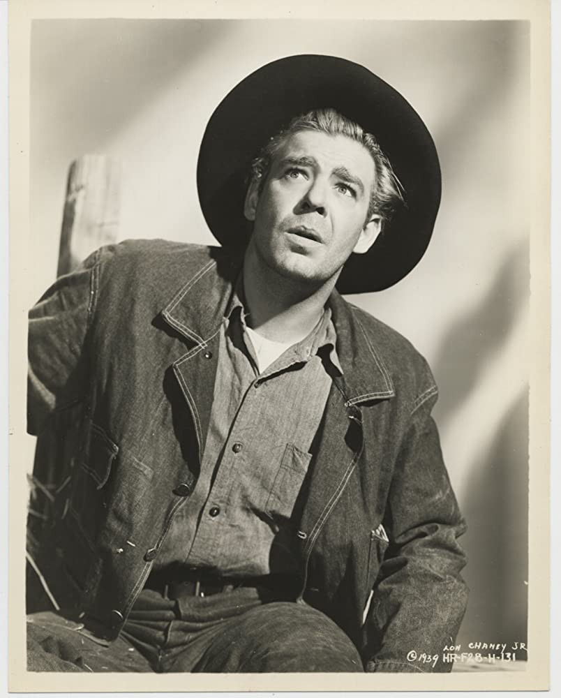 Lon Chaney Jr. in Of Mice and Men (1939)