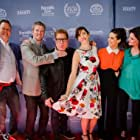 """""""Moments of Clarity"""" team at The San Diego Film Festival: writer Christian Lloyd, Producer David J Phillips, director Stev Elam, Lead Actresses Kristin Wallace, Lyndsy Fonseca and Saxon Trainor"""