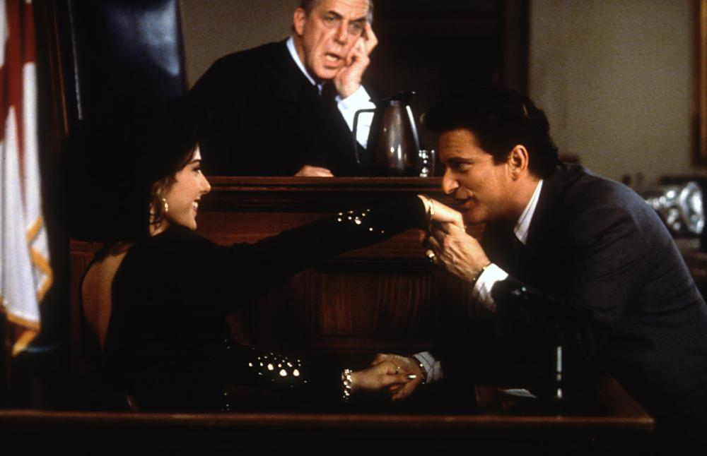 Joe Pesci, Marisa Tomei, and Fred Gwynne in My Cousin Vinny (1992)
