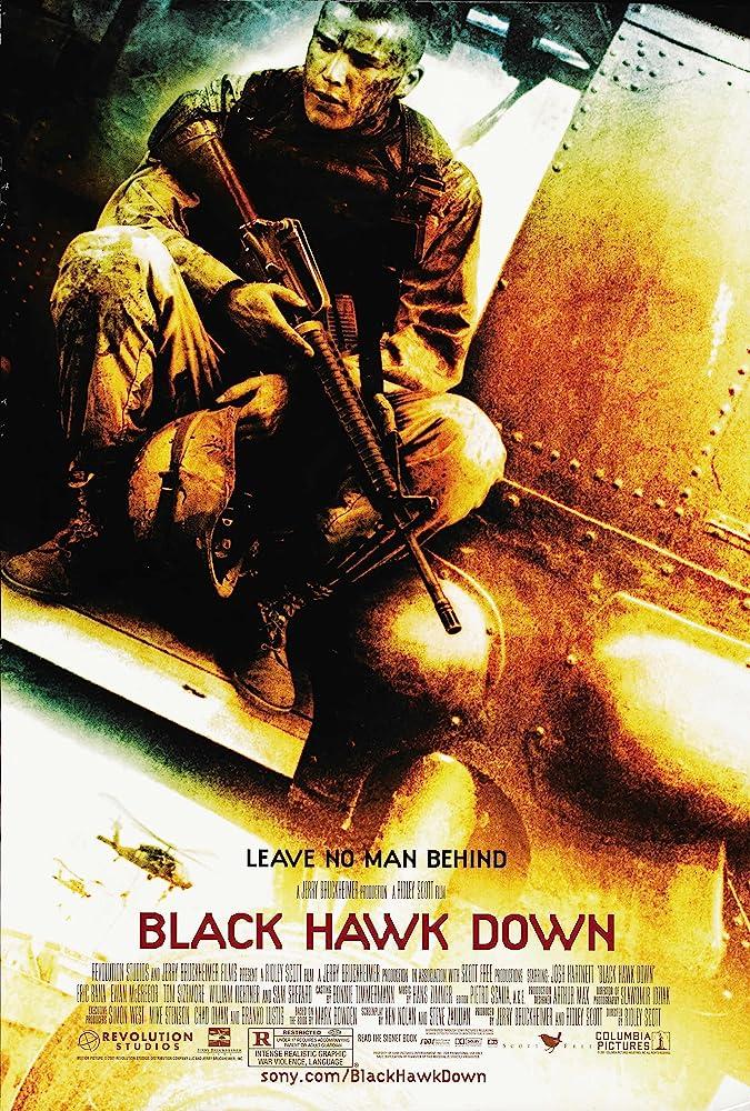 Black Hawk Down 2001 Dual Audio Hindi 500MB BluRay  Download