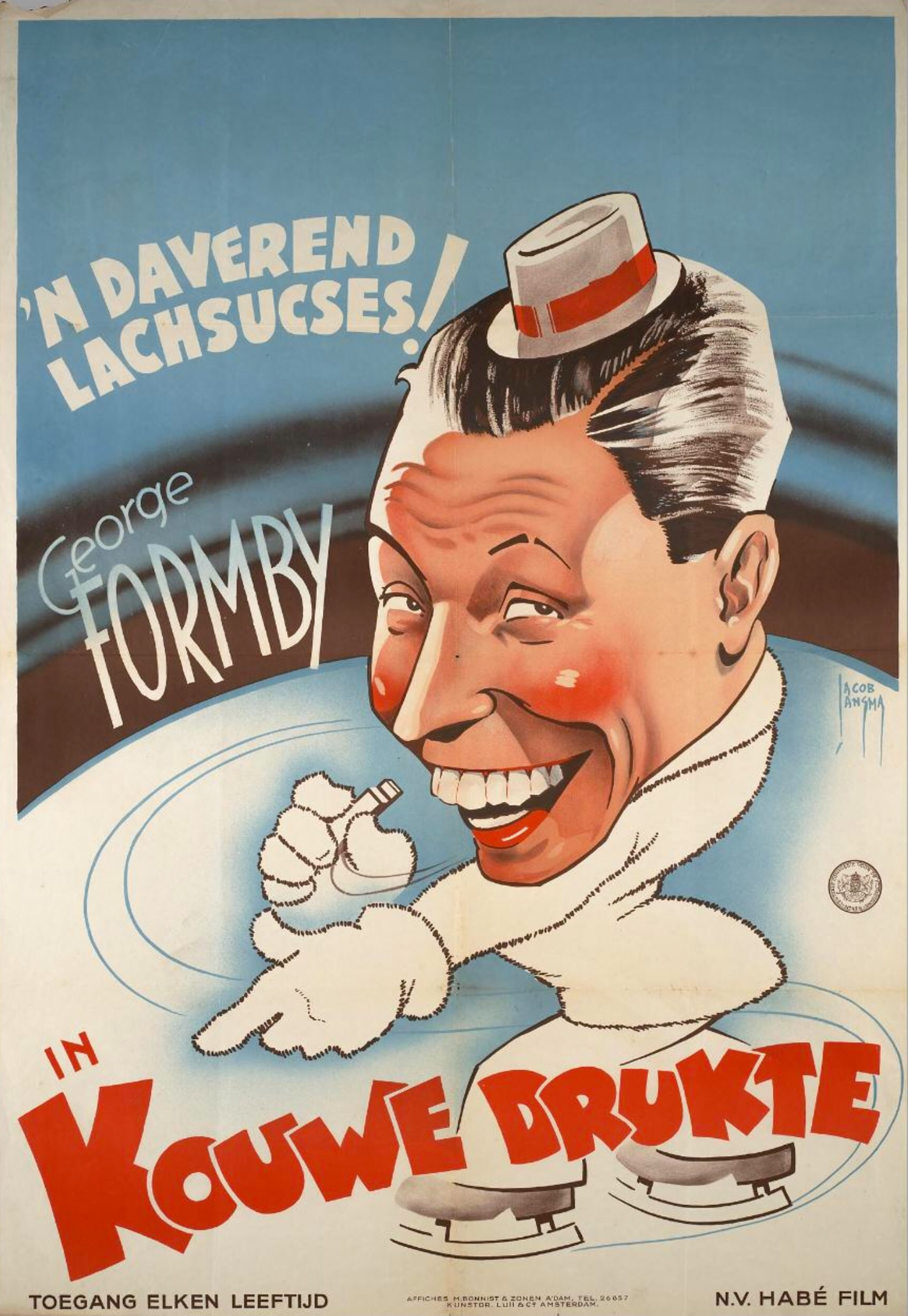 George Formby in I See Ice! (1938)