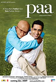 Amitabh Bachchan and Abhishek Bachchan in Paa (2009)