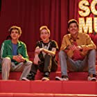 Larry Saperstein, Matt Cornett, and Joshua Bassett in High School Musical: The Musical - The Series (2019)