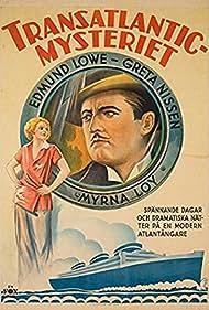 Edmund Lowe and Greta Nissen in Transatlantic (1931)