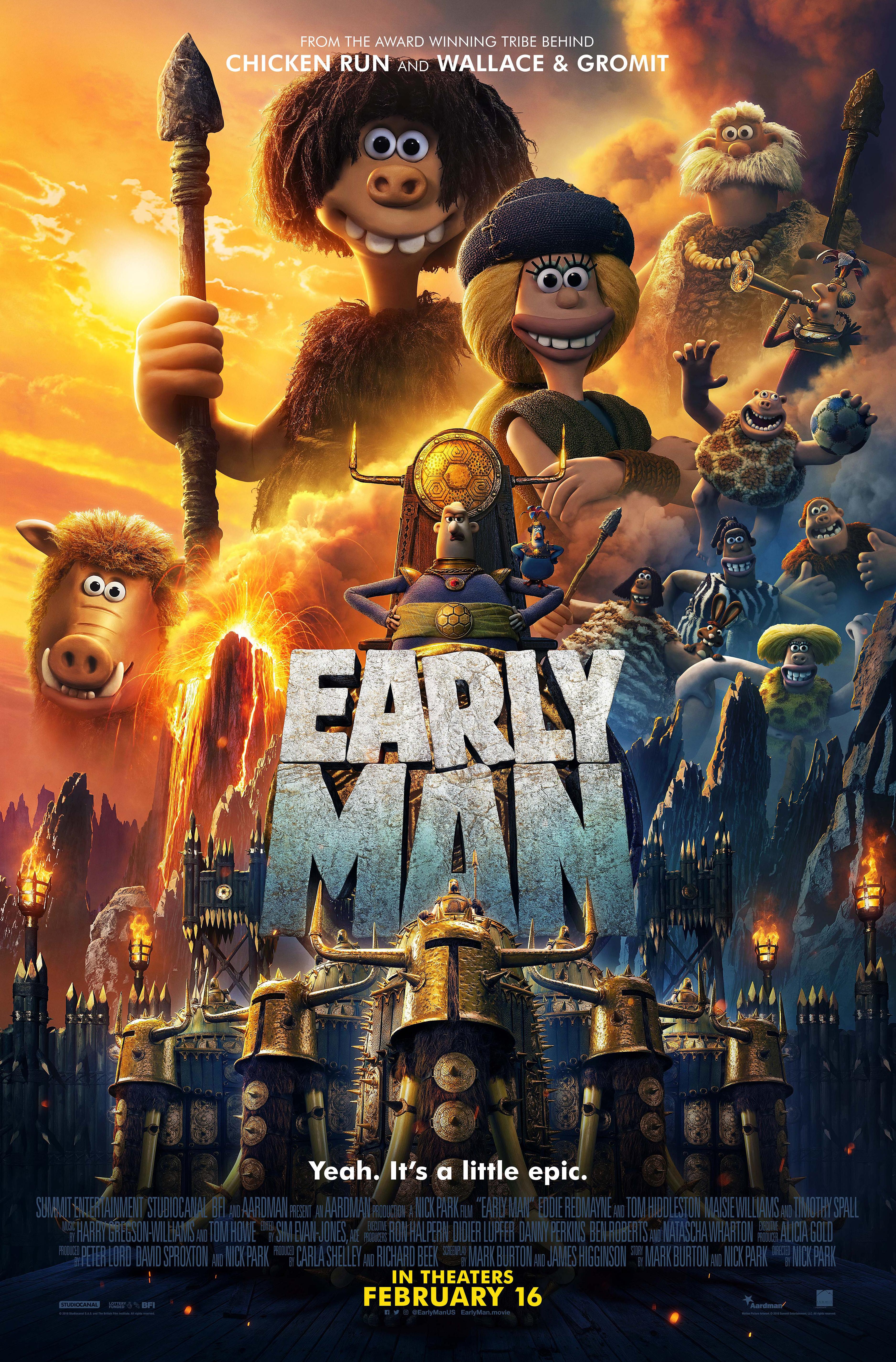 Early Man (2018) BluRay 480p, 720p & 1080p