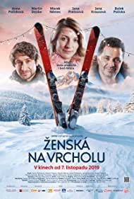 Martin Dejdar, Anna Polívková, and Marek Nemec in Zenská na vrcholu (2019)