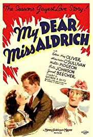 My Dear Miss Aldrich Poster