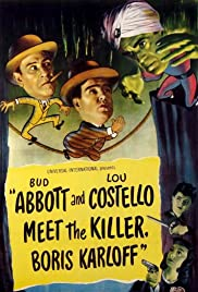 Bud Abbott Lou Costello Meet the Killer Boris Karloff (1949)