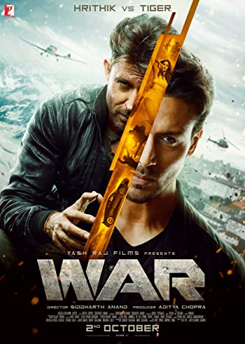 War 2019 Full Hindi Movie Download 400MB 480p BluRay