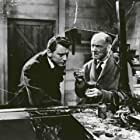 Dean Jagger, William Lucas, and Anthony Newley in X the Unknown (1956)