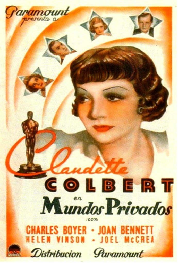 Joan Bennett, Charles Boyer, Claudette Colbert, and Joel McCrea in Private Worlds (1935)