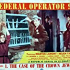 Lorna Gray, Marten Lamont, George J. Lewis, and Helen Talbot in Federal Operator 99 (1945)