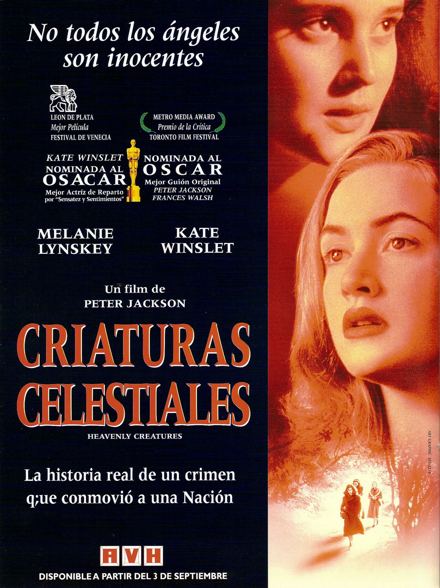 Kate Winslet and Melanie Lynskey in Heavenly Creatures (1994)