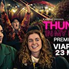 Gunilla Bergerham, Gustaf Hammarsten, Julia Lyskova Juhlin, Amy Deasismont, and Alexander Abdallah in Thunder in My Heart (2021)