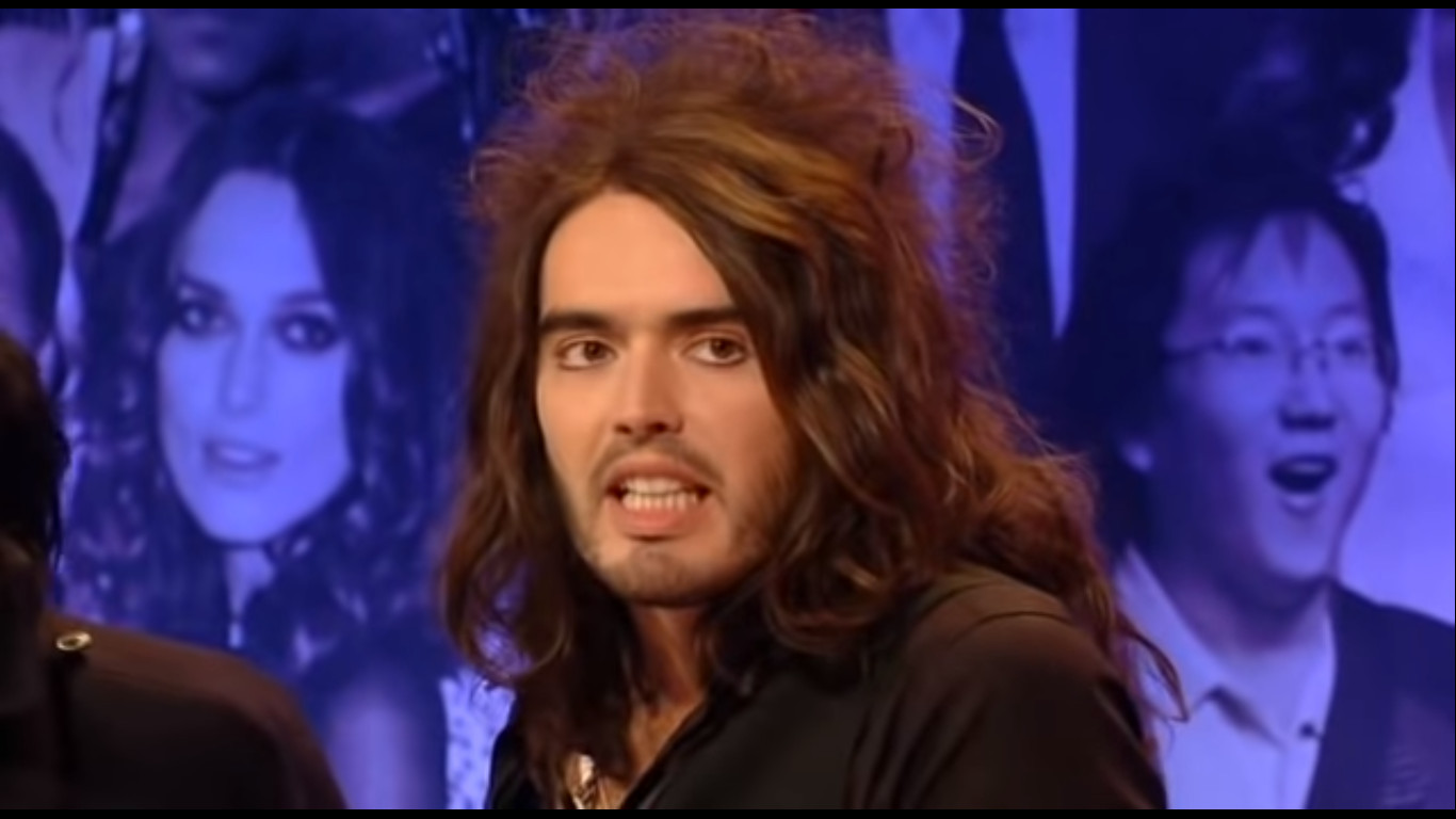 Russell Brand in The Big Fat Quiz of the Year (2007)