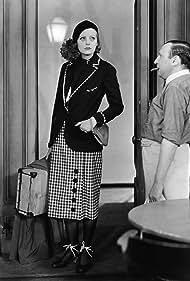 Greta Garbo and Herman Bing in Anna Christie (1930)
