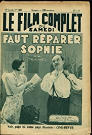 Faut réparer Sophie Poster