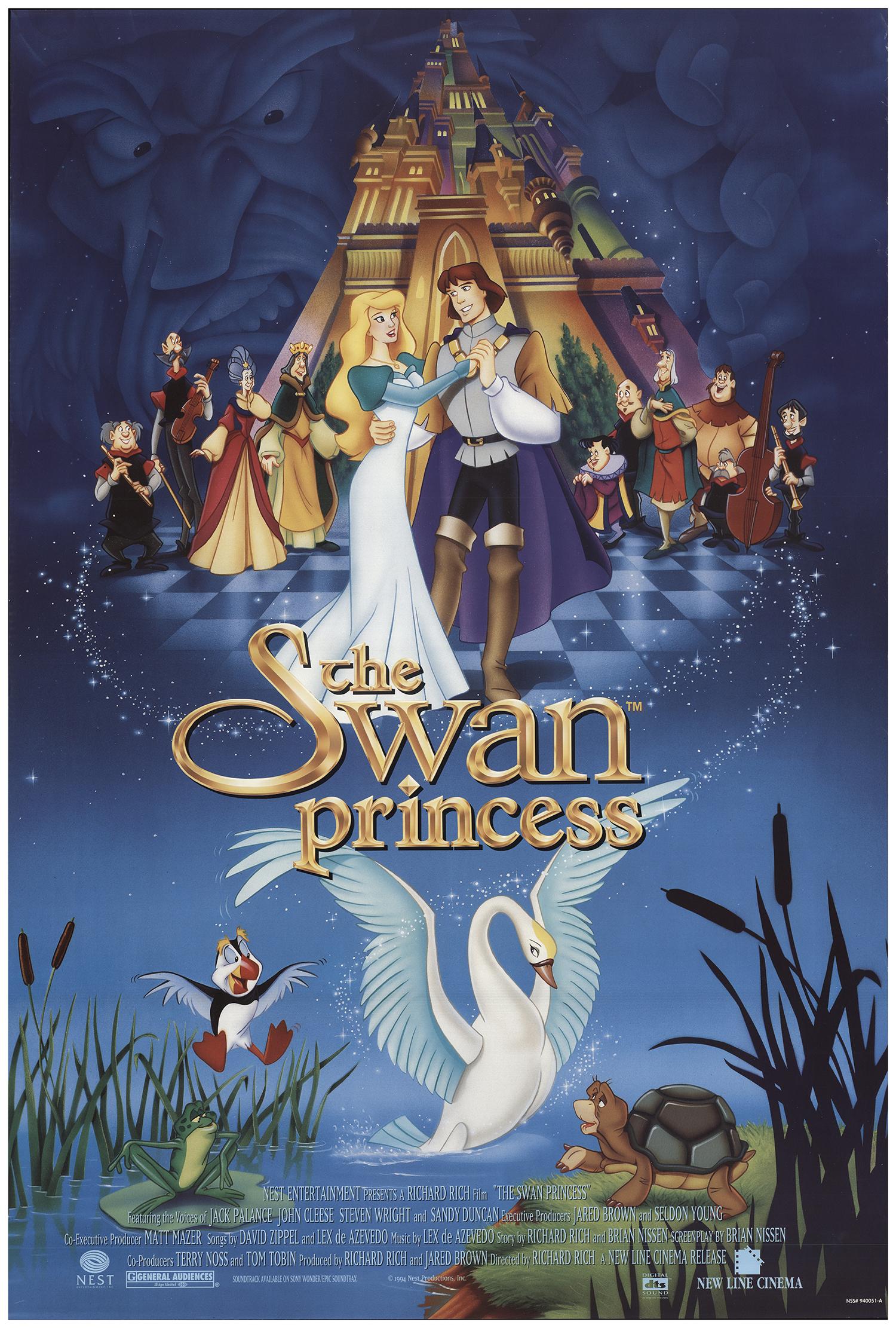 The Swan Princess (1994) - IMDb