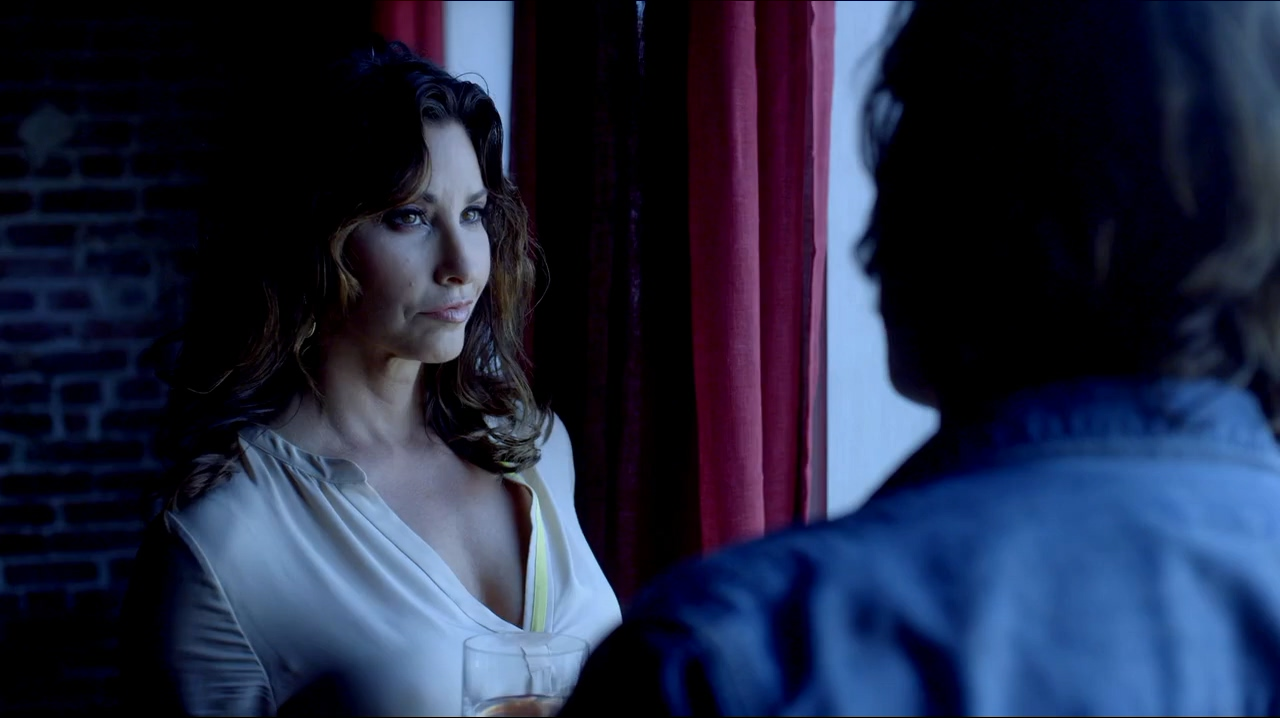 Gina Gershon and Clifton Collins Jr. in Cleaners (2013)