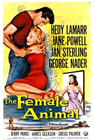 Hedy Lamarr, Jane Powell, and George Nader in The Female Animal (1958)