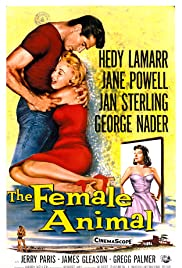 The Female Animal (1958) Poster - Movie Forum, Cast, Reviews