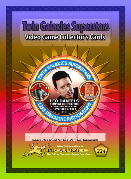 Leo Daniels Limited Edition Trading Card
