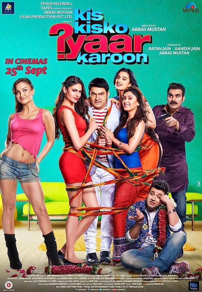 Download Kis Kisko Pyaar Karoon (2015) Hindi Full Movie HDRip 480p [400MB] | 720p [1GB]