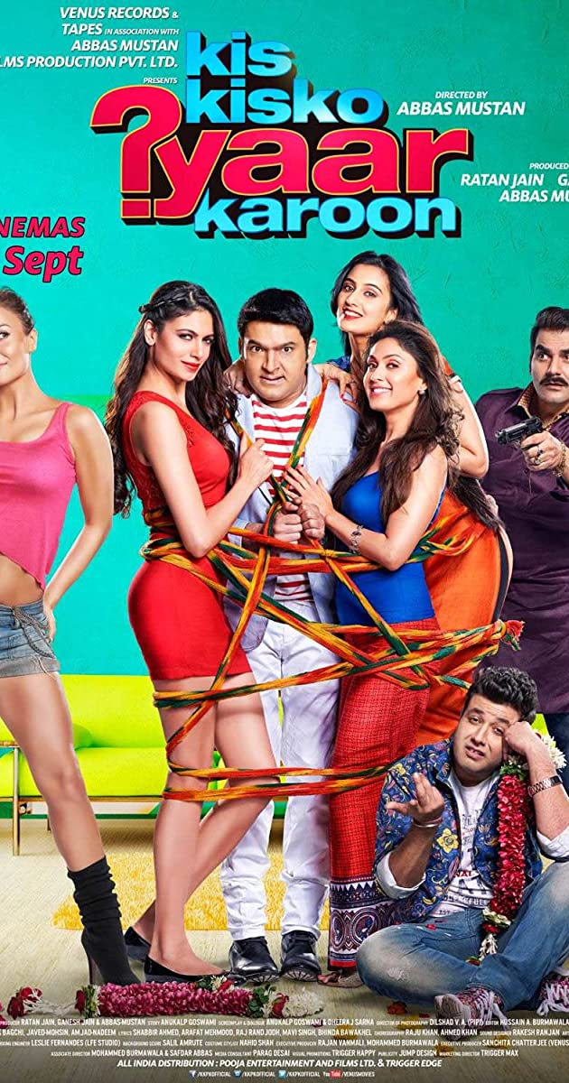 Hindi Movie Kis Kisko Pyaar Karoon Watch Online